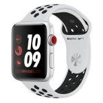 """Apple Watch Nike+ 38 mm Series 3 (GPS Cellulaire) - Boîtier Alu Bracelet ou Boucle """"Nike Sport"""""""