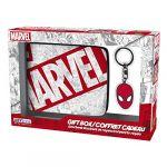 Abysse Corp Set portefeuille et porte-clés Marvel Spider-man