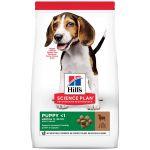 Hill's Science Plan Canine Puppy Medium Agneau et riz 18Kg