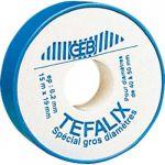 Geb Rouleau de téflon 15mx19mm épaisseur 0,2mm