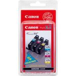 Canon CLI-526 C/M/Y Multipack - 3 cartouches d'encres (cyan magenta et jaune)
