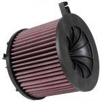 K&N Filtre à Air de Remplacement (B9) 1.4 Compris Allroad et Quattro/A5 2.0 F5/Q5/S4 249&252 Pk 2015-(E-0646), Rouge