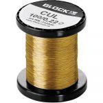 Block Fil de cuivre émaillé CUL 100/0,85 Ø ext. avec isolant 0.85 mm 1 l'ens.