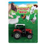 Kim'play Tracteur en métal