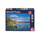 Schmidt Puzzle de 1000 pièces : Week-end au lac