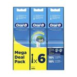 Oral-B Accessoire dentaire Oral B BROSSETTES PRECISION CLEAN EB20 X6 CLEAN MAXIMISER