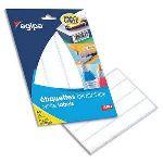 Agipa Pochette de 640 étiquettes multi-usage 24 mm