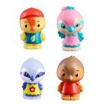 Vulli 4 figurines de la famille TwitTwit