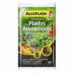 Algoflash Terreau plantes aromatiques & légumes en pot 6L
