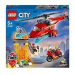 Lego L'hélicoptère de secours des pompiers CITY 60281