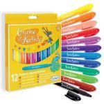Sentosphère Graine d'Artiste Pastels aquarellables - Pochette de 12 crayons
