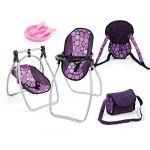 Bayer Design Set d'accessoires violet 63694AB