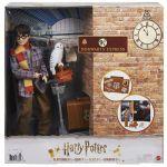 Mattel Harry Potter - Coffret Collector Quai 9 3/4, avec poupée et chouette Hedwige, bagages et accessoires - Poupée Mannequin - Dès 6 ans