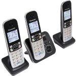 Panasonic KX-TG6823 - Téléphone sans fil 3 combinés