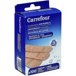 Carrefour Pansements Universels 3 Tailles - La Boite de 100