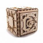 Coffre fort UGEARS Puzzle 3D Mécanique en bois