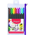 Maped 15 stylo feutres fins Graph' Peps