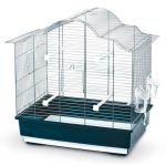 Kerbl Cage à oiseaux Gabbia Sophia - 57x36x56cm - Bleu foncé