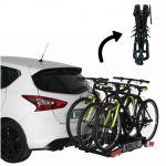 Norauto Porte-vélos D´attelage Plate-forme Rapidbike 3p Flex Pour 3 Vélos