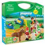 Playmobil 5893 - Valisette cavaliers et poneys