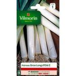 Vilmorin Poireau gros et long d'eté - Sachet de graines 4 g