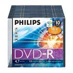 Philips DM4S6S10F - DVD-R x 10 4.7 Go support de stockage