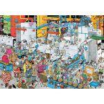 Jumbo Fabrique De Bonbons - Puzzle Jan Van Haasteren 500 pièces