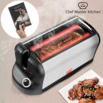 Chef Master Kitchen Smart Rotisserie S - Four électrique portable avec livre de recettes