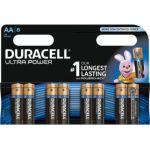 Duracell 8 Piles Ultra Power AA