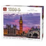 King International Londres International - Puzzle 1000 pièces