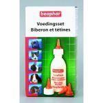 Beaphar Pack Biberon + 4 tétines et Brosse à nettoyer