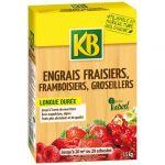 KB Bio - Engrais biologique fraisiers 1.5 Kg