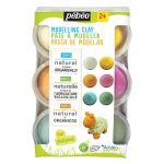 Pebeo Set Pâte à modeler Bio colorée 6 Pots 90g Arteko ( Pâte à modeler Bio
