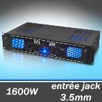 Skytec SPL500 Ampli de Sono DJ/PA 2x250W égaliseur 3 bandes