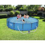 Bestway Steel Frame Pool Piscine ronde 427 x 84 cm