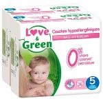 Love & Green Couches écologiques taille 5 Junior 12-25 kg - 2 x 26 couches