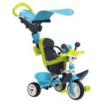 Smoby Tricycle Baby Driver Confort- Bleu