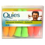 Quies Protection auditive mousse 6 paires
