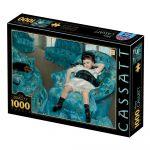 Dtoys Puzzle Mary Cassatt : Little Girl in a Blue Armchair