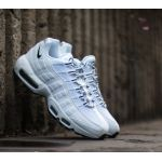 Nike Chaussure Air Max 95 pour Homme - Blanc - Taille 47 - Homme