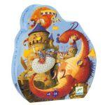 Djeco Vaillant et dragon - Puzzle 54 pièces