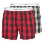 Calvin Klein Caleçons Jeans BOXER SLIM X 2 Gris - Taille S,M,L,XL