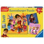 Ravensburger 3 puzzles 49 pièces Alvin et Les Chipmunks