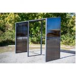 Abri Mural Multi-Fonctions Aluminium Anthracite