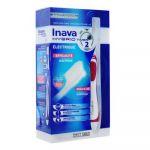 Inava HYBRID TIMER - Brosse à Dents Électrique, 1 unité