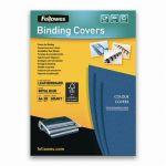 Fellowes 5373902 - Etui de 25 couvertures à relier Delta, A4, coloris bleu royal