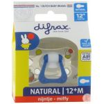 Difrax Sucette Natural 12+ mois miffy 1 pc(s) 8711736055746