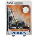 Philips 1 ampoule HB4 12V Vision - 30% de plus