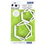 PME 4 Emporte pièces pentagonales foot
