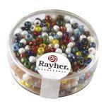 Rayher Perles De Rocaille 2,6mm Opaque Lustre Noir